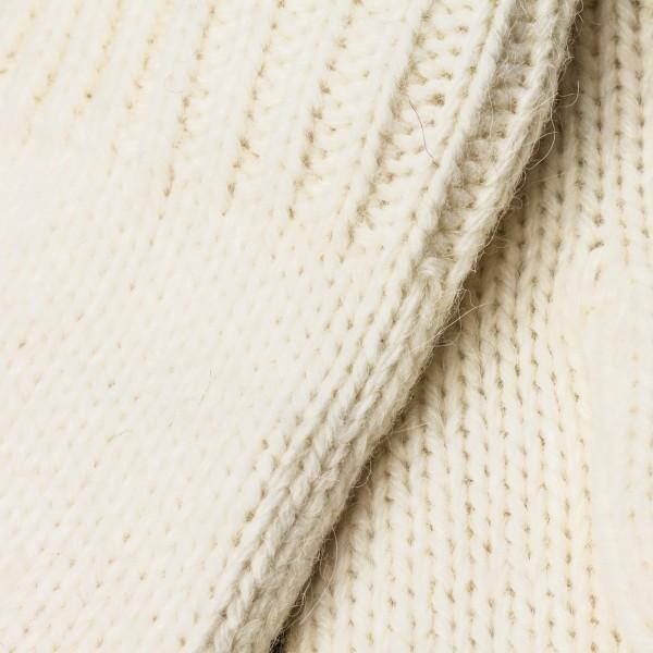 Unisex Merino Alpaka Blend white Mittens