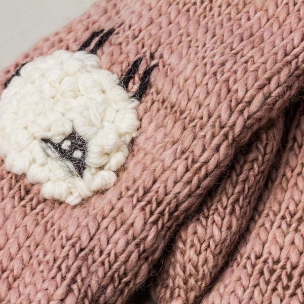 Pagliaccio Lamb Unisex Winter Merino Wool Blend Mitt