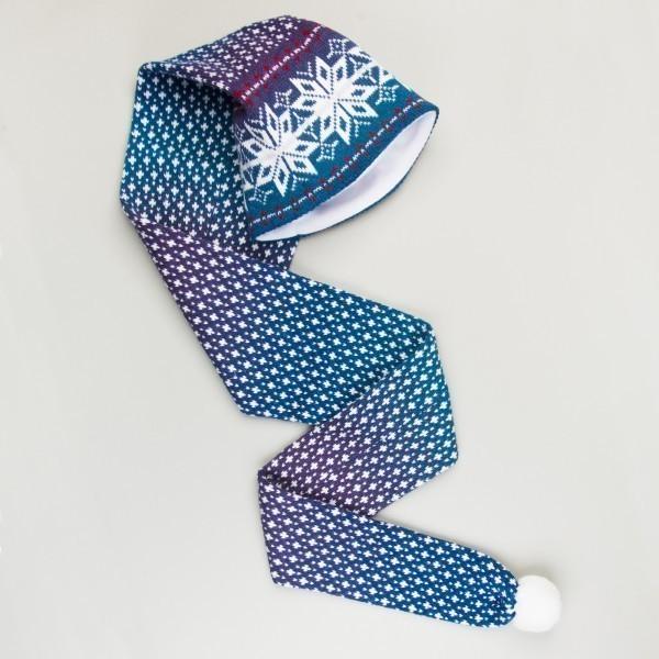 Buratino Unisex Winter Pure Merino Wool Scarf & Hat Combo