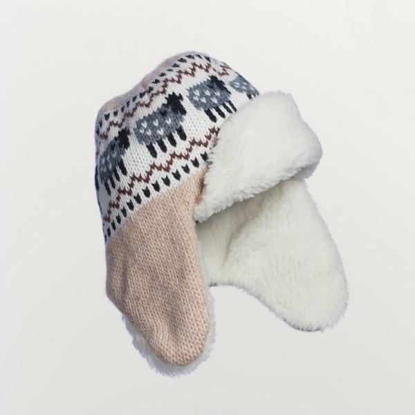 Ram Unisex Merino Wool Blend Bomber Hat