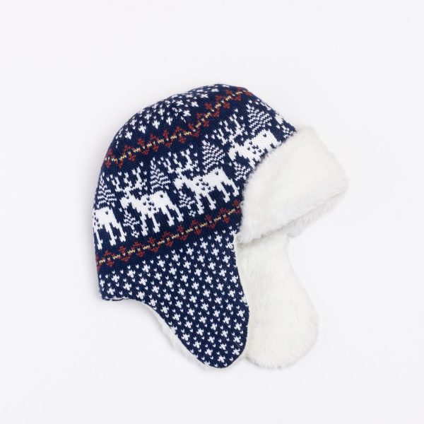 Deer Unisex Pure Merino Wool Bomber Hat