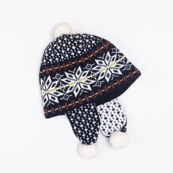 Bonne Unisex Pure Merino Wool Earflap Hat
