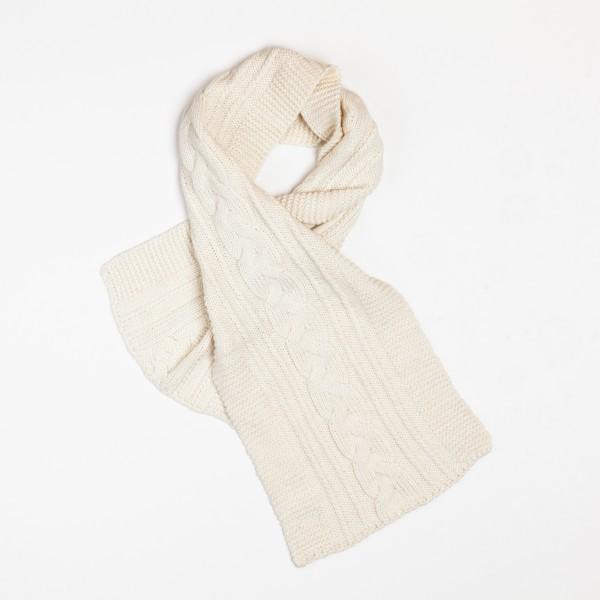 Tresse Unisex Merino Wool Blend Scarf