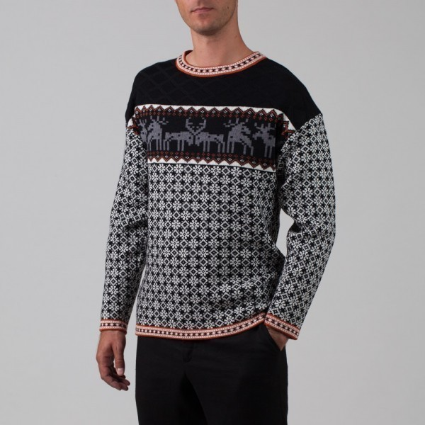 Mustang Pure Wool Crew Neck Jumper