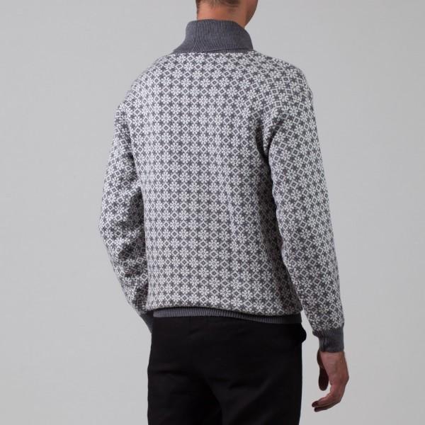 Etno Pure Wool Jumper gray