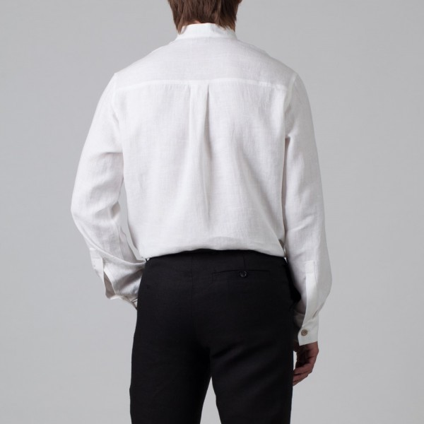 Sorento vabalt langev mugava lõikega särk valge