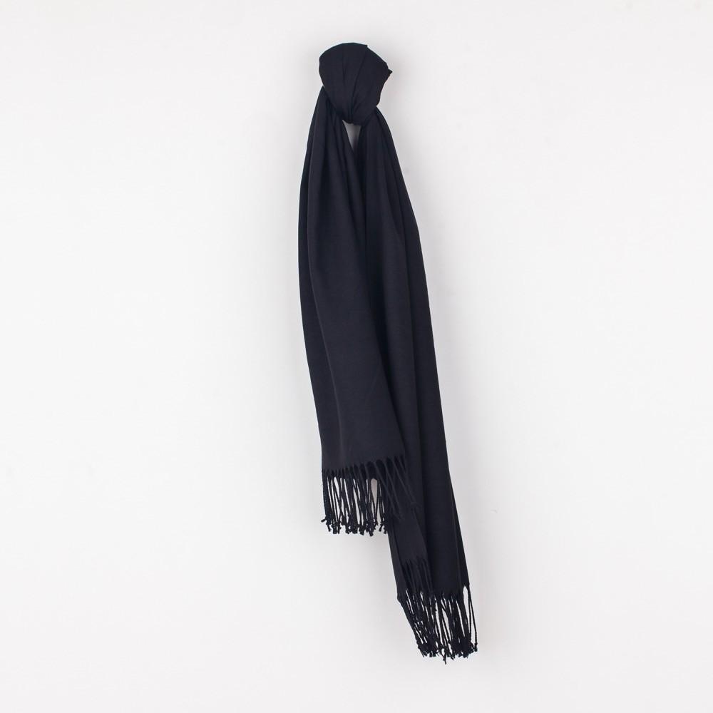 Musta värvi Pashmina Sall