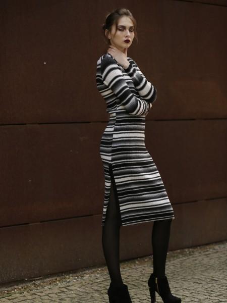 Wool knit dress Felina