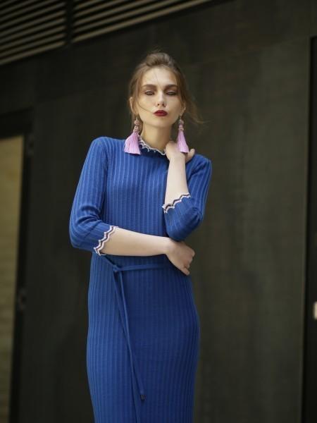 Wool knit dress Andria