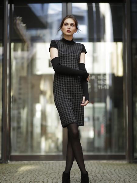 Short sleeve knit dress Lynn