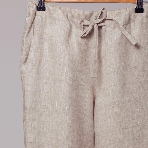 Marine linased paelaga püksid hall
