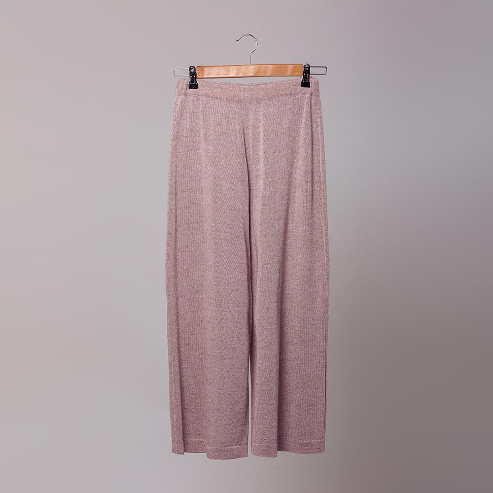 Suzanna трикотажные брюки-кюлоты светло-розового цвета
