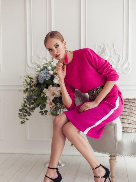 Olexa knitted top and skirt Jenna