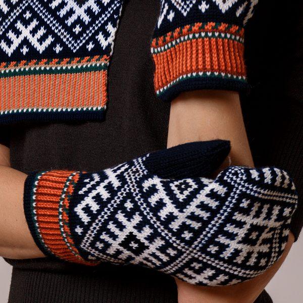 Tilda Unisex Pure Merino Wool Mittens