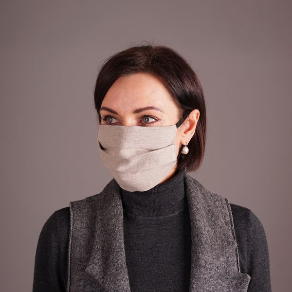 Reusable linen mask week bundle set
