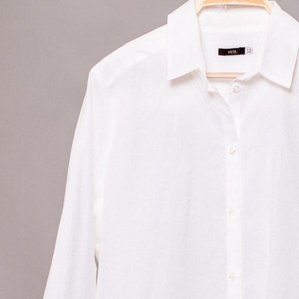 Dominica рубашка из хлопка с длинными рукавами свободного кроя