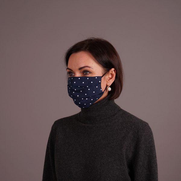 Льняные многоразовые маски