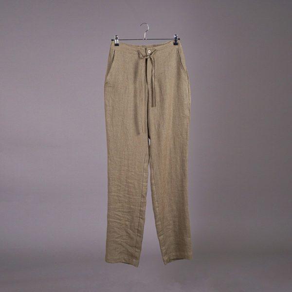 Tomson Pure Linen Trousers khaki
