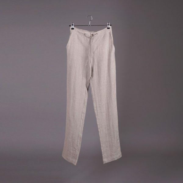 Tomson Pure Linen Trousers natural gray