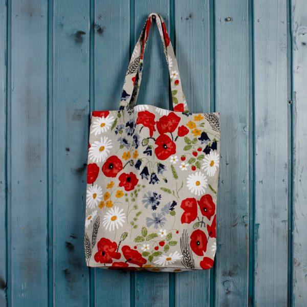 Suve Chammomile Print Shopping Bag