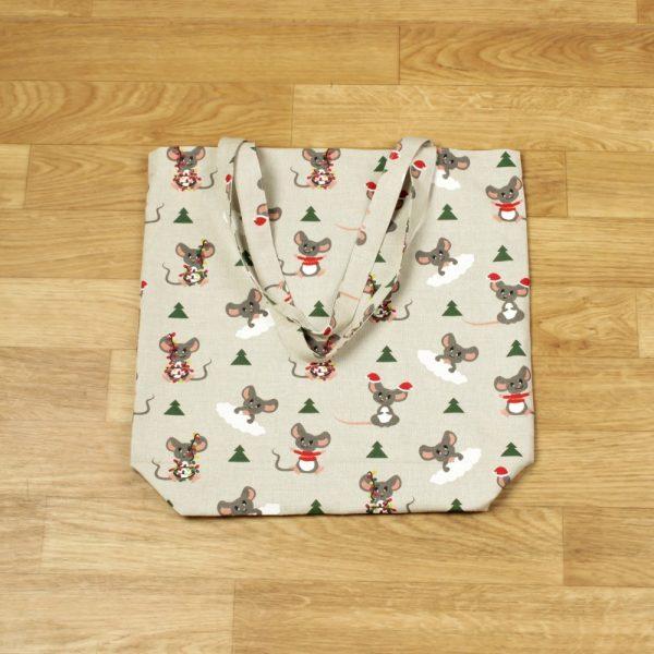 Suve Christmas mouses Print Shopping Bag