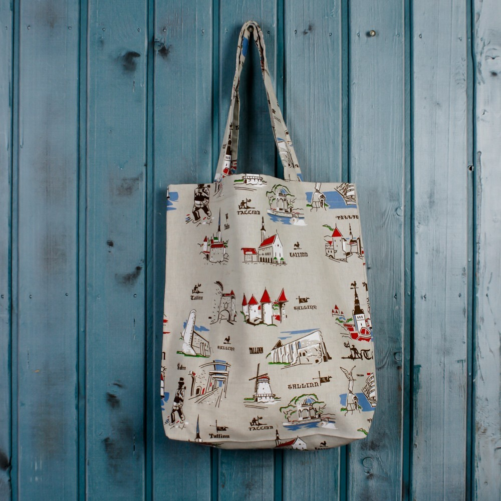 Suve Tallinn Print Shopping Bag