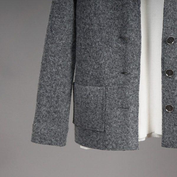 Polina pure wool gray jacket