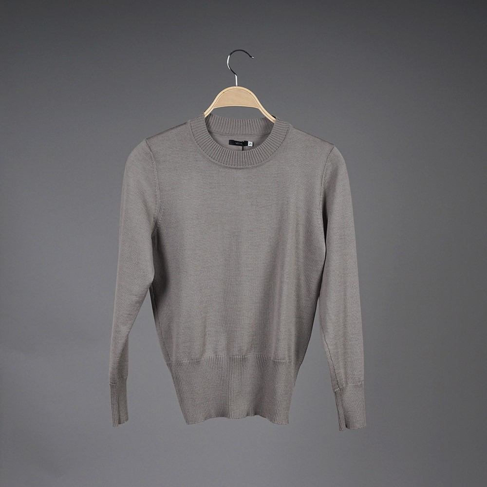 Federica wool gray pullover