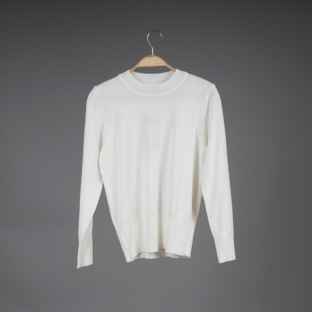 Federica wool white pullover