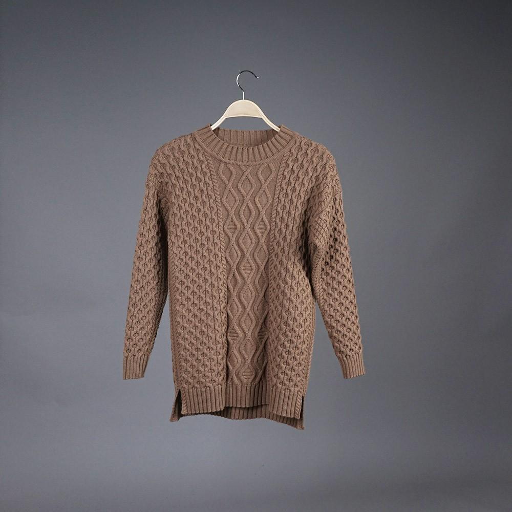 Neris wool brown pullover