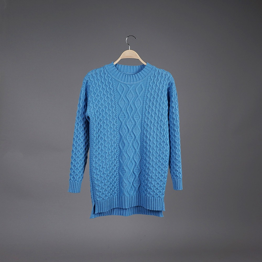 Neris wool blue pullover