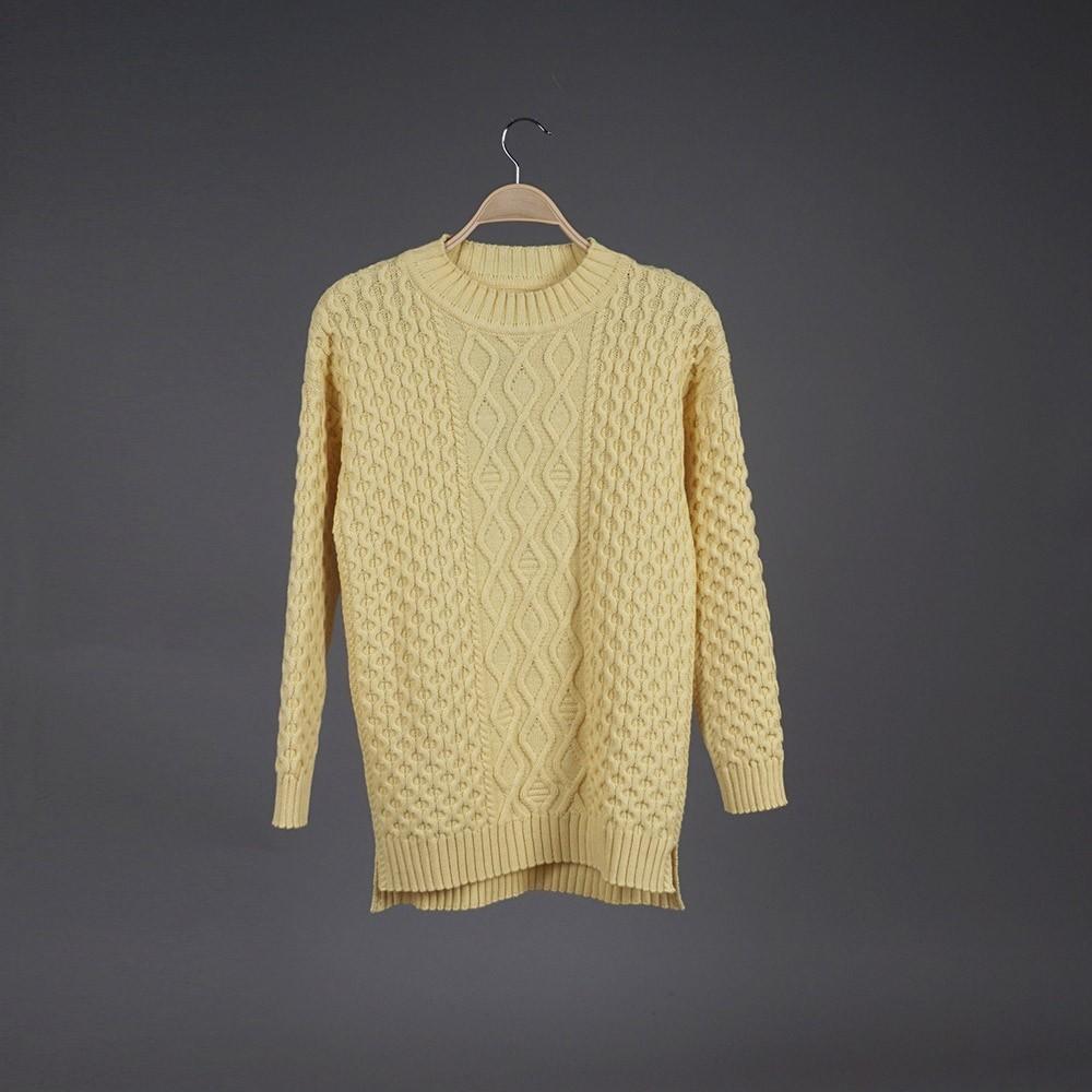 Neris wool yellow pullover