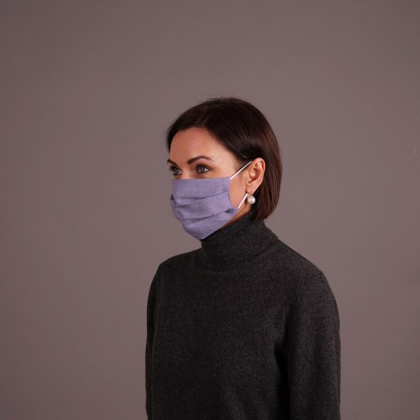 Reusable linen mask week bundle set