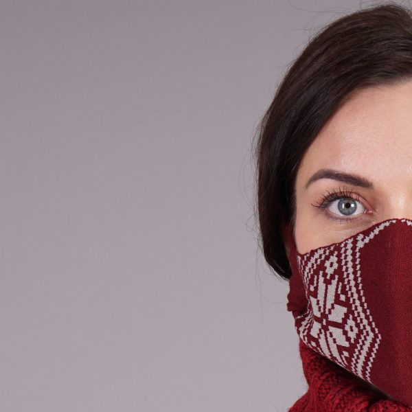 Nordstar bordo knitted reusable mask